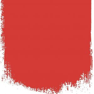 FLAME RED NO 121 PERFECT EGGSHELL PAINT