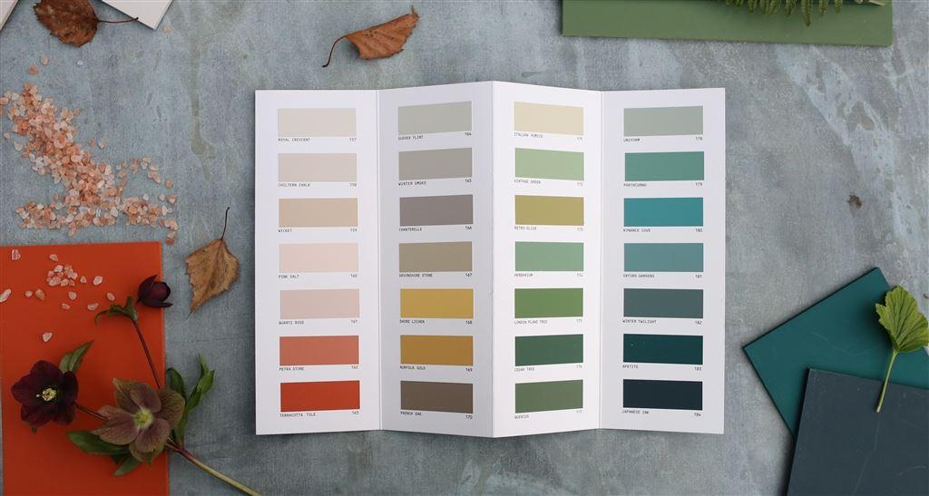 Bestel een gratis Designers Guild kleurenwaaier